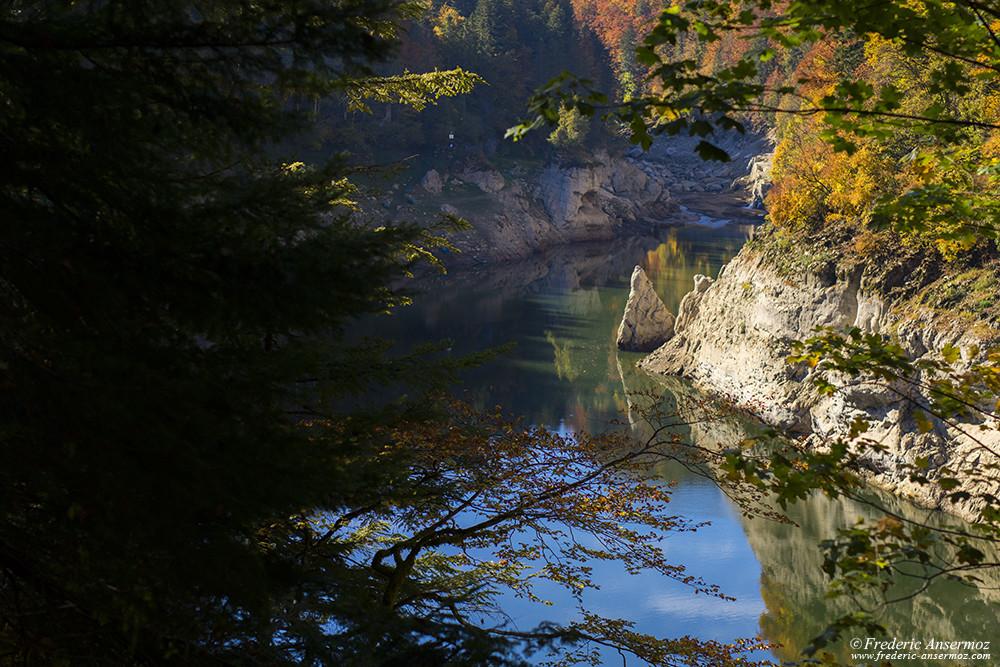 Couleurs d'automne sur les Gorges du Doubs