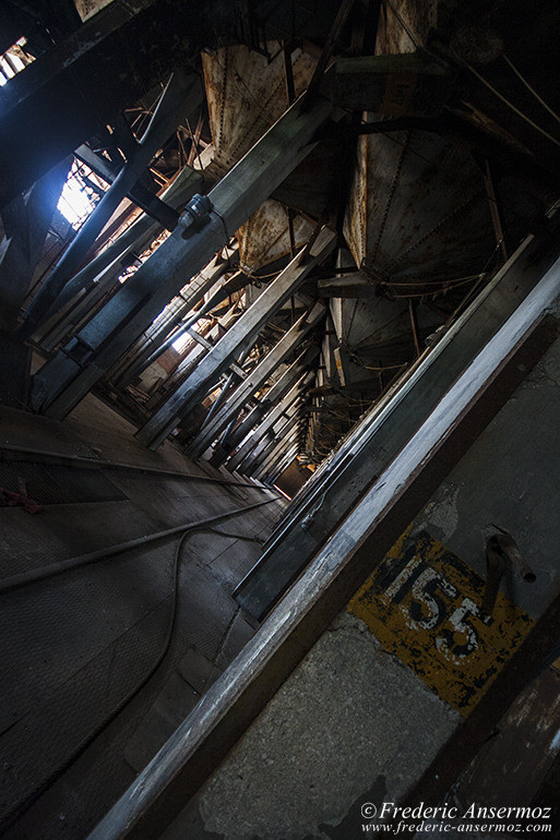 abandoned silo 5 interior in montreal