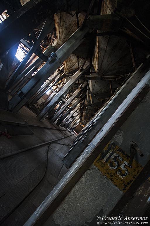 intérieur silo 5 abandonné à montreal