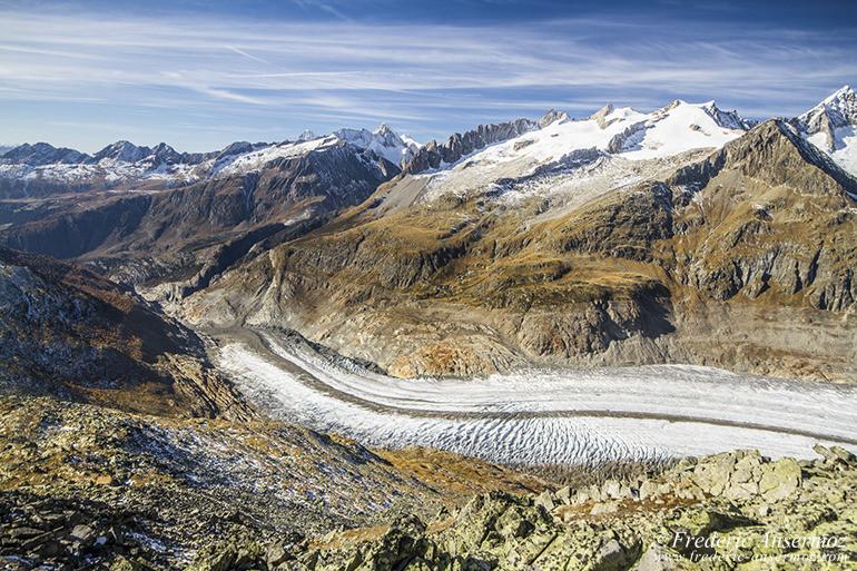 Aletsch glacier 19