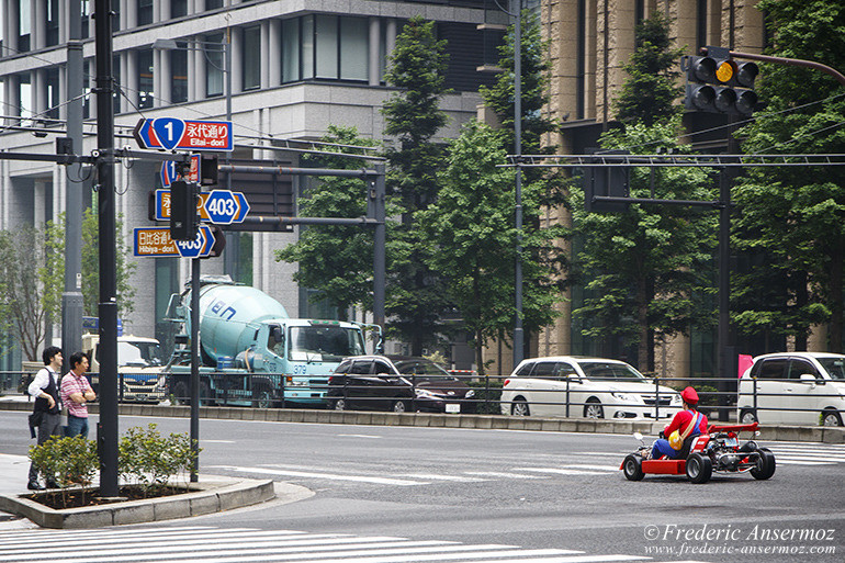 Tokyo real-life Mario Kart races