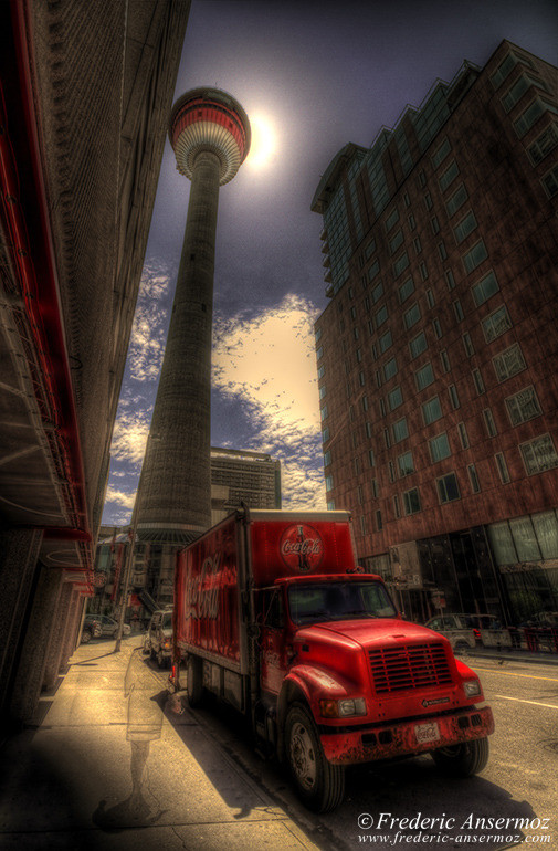 Calgary tower hdr