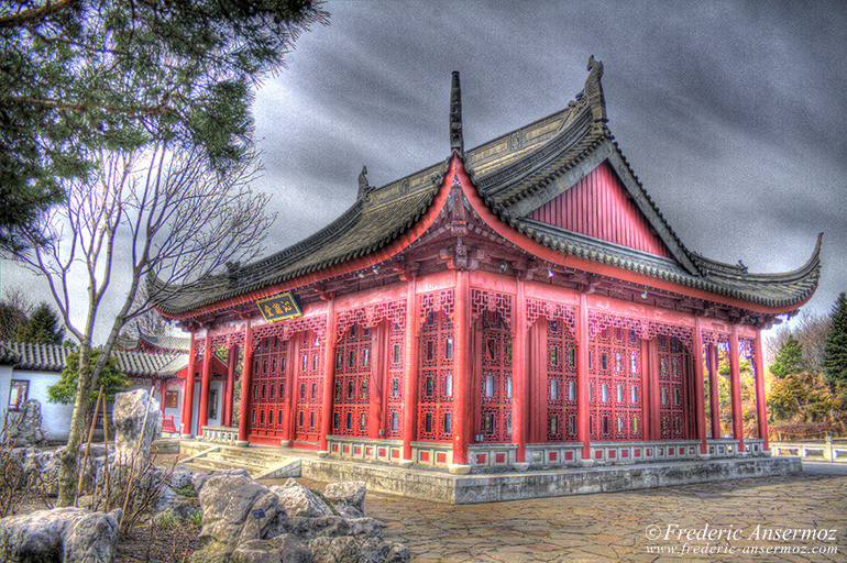 Chinese temple hdr