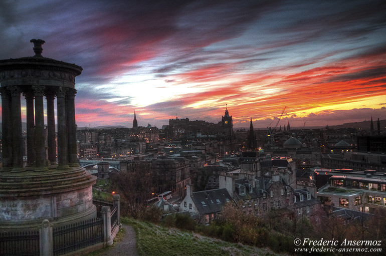 Scotland edinburgh hdr