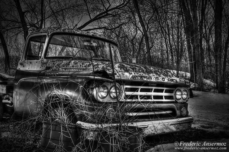 Vintage fargo truck hdr