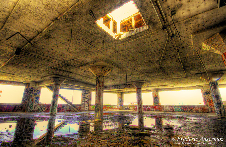 Abandoned car park hdr
