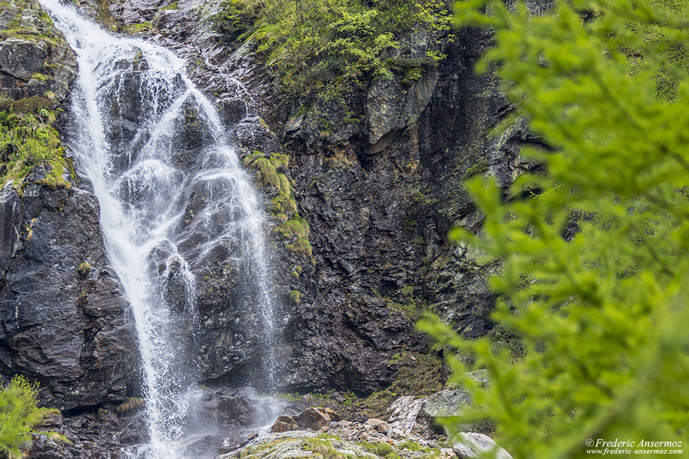 Waterfalls are everywhere at this time of the year, due to snow melting