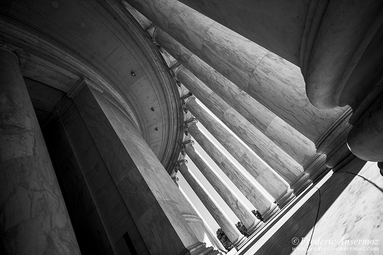 Washington dc jefferson memorial interior