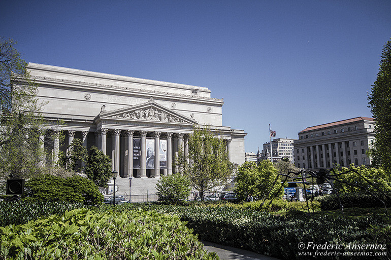 Washington dc national archives building