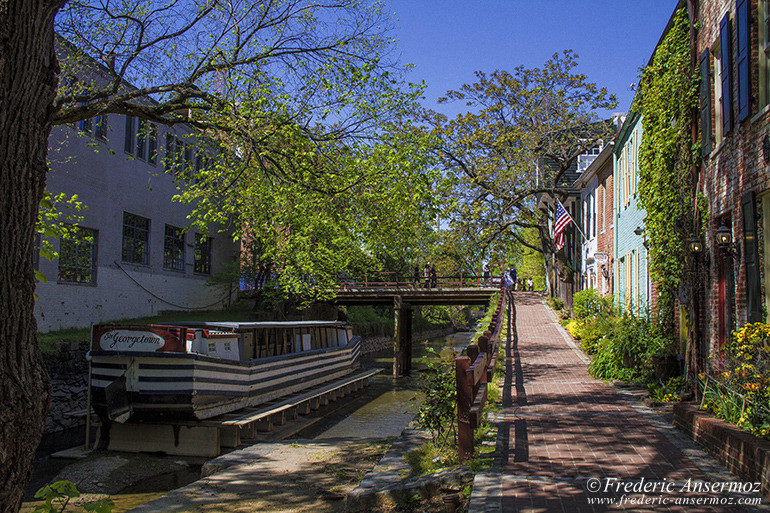 Washington georgetown canal