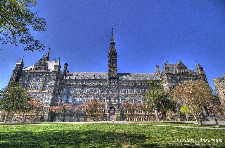 Washington healy hall georgetown university