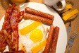 food photography of breakfast on plate