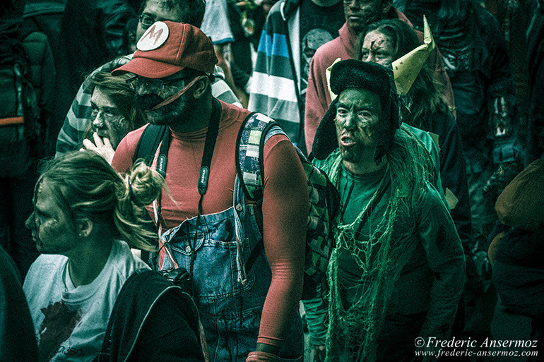 Zombie walk montreal 10