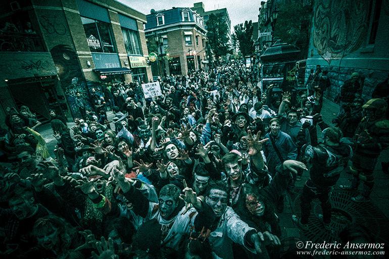Zombie walk montreal 14